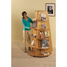 Demco.com - Mobile Feature Pyramid Displays