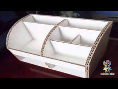 اعادة تدويرعلبة كارتون لصنع علبتين جميلتين لتنظيم اغراضك اعمال يدوية منزلية سهلة افكار منزلية مدهشة - YouTube