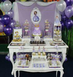 Princesa Sofia Party  Violeta Glace