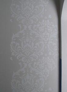 Jami's Damask Nook Transformation with Cutting Edge Stencils