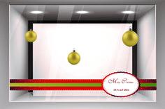 Schaufenster 2, Preis für 4×3 Meter: 350€ zzgl. 19% MwSt. Montage, Papa Noel, Christmas Time, Weihnachten, Snow Flakes, Don't Care, Model