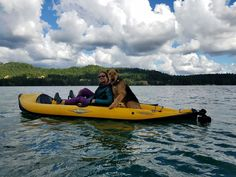 Winston kayaking on Columbia R.