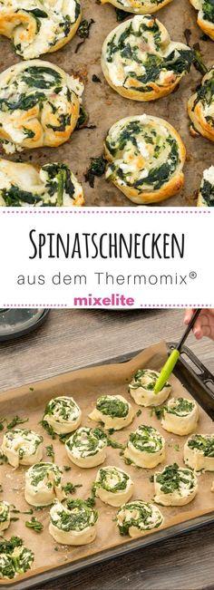 Entdecke unsere leckeren Spinatschnecken und viele weitere Rezepte aus dem #thermomix