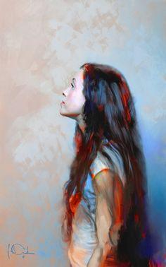 Miki Petur: Fine Art Digital Paintings   Fan Arts - Studies
