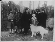 Kaiser and some dogs.