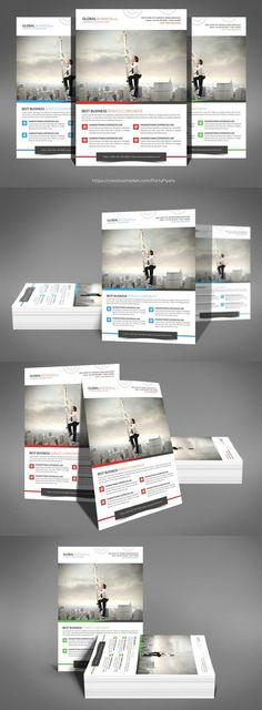 Global Business Flyer Templates
