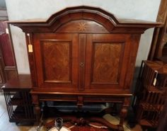 Four Year Fabulous - Provenance Auction House: A Late C/ Early C Dutch Cupboard on Stand. South African Art, Cupboard, Dutch, Highlights, Auction, Flooring, House, Furniture, Home Decor