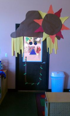I made this for my classroom door! My kids LOVED it!!