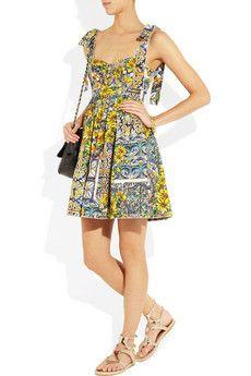 Dolce & GabbanaFloral Print Dress