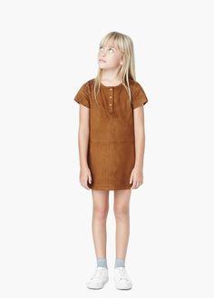 Vestido de botões | MANGO KIDS