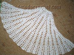 espalda vestido de playa sexy a crochet