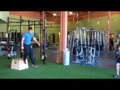Depth Jumps for Vertical Height Plyometrics, Gym Equipment, Workout Equipment