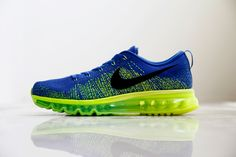 "Nike Flyknit Air Max ""Sprite"" - Trends Periodical #Nike #Flyknit #AirMax"