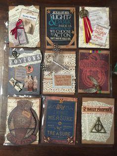 Harry Potter themed swap. Instagram @kendradyan