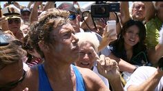 Diana Nyad completes historic swim from Cuba to Florida | Watch the video - Yahoo! Screen