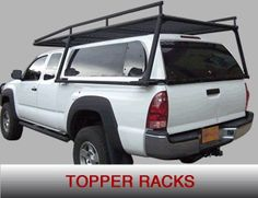 Over Camper Shell Ladder Rack Tacoma Google Search