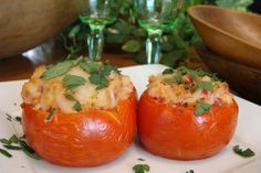 #Tomates #TomatesRellenos #AlHorno #recetas