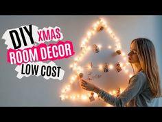 DIY decoración de Navidad LOW COST   XMAS ROOM DECOR - YouTube