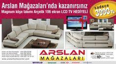 Arslan Mağazaları - Arslan Mağazalar'nda kazanırsınız