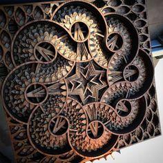 Stunning New Laser-Cut Wood Relief Sculptures by Gabriel Schama - My Modern Met