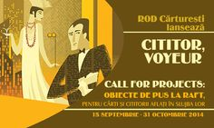 Call for proposals Cititor, Voyeur!