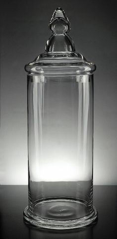 Clear Glass Apothecary Jar 19in....$12.99 @Peggy Keeling on Crafts