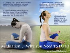 Meditating and centering yourself is a MUST. Not just during the holidays but whenever you are feeling stressed.
