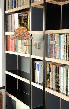 Boekenkast met verlichting Kewlox Trophy Shelf, Dressings, Co Working, Sideboard, Bookshelves, Home Furniture, Interior Decorating, Cabinet, Living Room