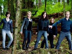 The Cullens. Twilight Eclipse