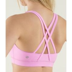 "Lululemon Light Pink ""Energy"" Bra (10) anything discount lulu or other athletic yoga brand is great!"