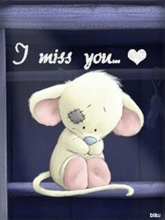 Hun, I live you and miss you! I Miss You Cute, Miss U My Love, Missing You Love Quotes, Love You Gif, Miss You Mom, Missing You So Much, Cute Love, Hugs And Kisses Quotes, Hug Quotes