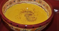 Banana Squash Soup-good recipe for the huge banana squash from in-laws
