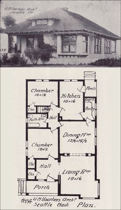 1000 images about vintage house plans 1900s on pinterest for Western homes floor plans