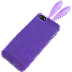 #Bunny TPU Skin Cover for Apple #iPhone 5, Purple $11.99 From #DayDeal
