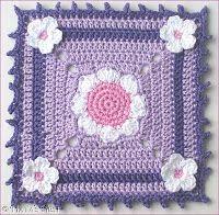 Natas Nest: Daisy Granny Square free pattern
