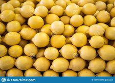 Organic Lemons Freshly Harvested On A Market Counter Stock Image - Image of nobody, market: 183751657 Counter, Harvest, Marketing, Fruit, Natural, Image, Food, Essen, Eten