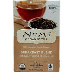 Numi Tea Breakfast Blend Black Tea (3x18 Bag)
