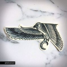 My version of an Egyptian falcon. Perfect for fashion or cosplay! - Approx. 4 wide (10.16 cm) - Lasts 2-3 days depending on application location - Lotion and makeup powder can be applied over tattoo to minimize shine.