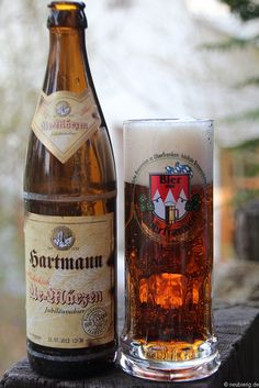 Das Ur-Märzen von der Brauerei Hartmann aus Würgau    www.brauerei-hartmann.de Whisky, Wine Drinks, Beverage, German Beer Steins, Beers Of The World, Beer Art, Beer Coasters, Best Beer, Root Beer
