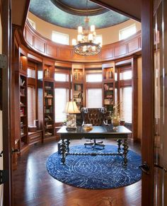 Amazing Home Office Designed By Jenny Lynn Wynne Design In Cincinnati.  #housetrends Https: