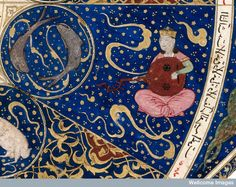 "Horoscope from 'The book of birth of Iskandar"""