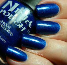 Sassy Shelly: Ninja Polish Holiday Collection ~ Sapphire Dreams