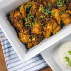 Ramsay's delicious butter chicken with (chicken) chilli, cilantro and ginger (in Polish)