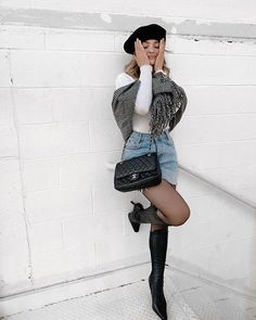Best Winter Outfits Ideas To Try Right Now - Knitters Casual Fall Outfits, Fall Winter Outfits, Chic Outfits, Autumn Winter Fashion, Fashion Outfits, Womens Fashion, Winter Style, Soft Grunge, Kelsey Simone Outfits