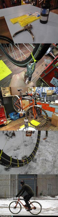 winterize your bike