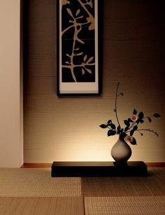 Japanese modern tatami room