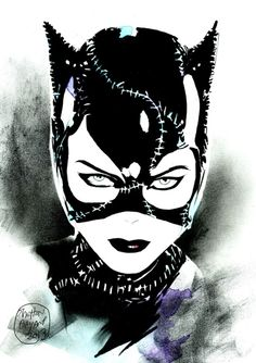 Michelle Pfeiffer's Catwoman by Shelton Bryant