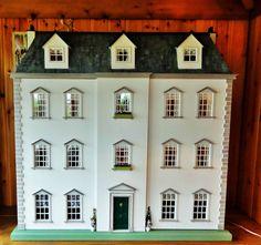 "Stunning large 1.12 scale handmade Georgian Dolls House Mansion ""Felsham Manor"" in Dolls & Bears, Dolls' Miniatures & Houses, Dolls' Houses | eBay"