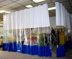 Spray Booth Curtains