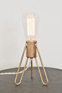 Retronaut Rocket Lamp